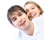 Jeunes couples dans l'amour Photo stock