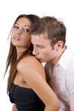 Jeunes couples de beauté photo libre de droits