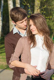 Jeunes couples de hippie de mode dans l'amour Photographie stock libre de droits