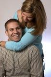 Jeunes couples espiègles Photos stock