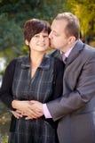 Jeunes couples heureux Image libre de droits