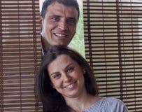Jeunes couples italiens photo libre de droits