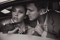 Jeunes couples magnifiques Photos libres de droits