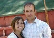 Jeunes couples mignons Images stock