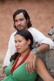 Jeunes couples multiculturels Photographie stock libre de droits