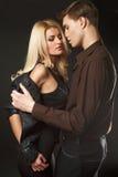 Jeunes couples sexy Photographie stock