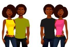 Jeunes d'Afro-américain Images stock