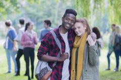 jeunes d'amour Image libre de droits