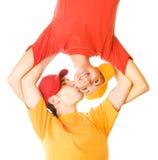 jeunes d'amour de couples Photos libres de droits