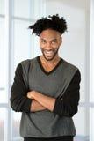 jeunes d'homme d'affaires d'afro-américain Photographie stock libre de droits