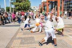 Jeunes danseurs Photos stock