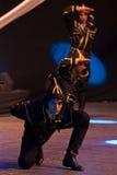 Jeunes danseurs turcs dans le costume traditionnel image libre de droits