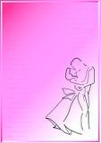 jeunes de baiser de gens de couples Illustration Libre de Droits