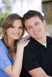 jeunes de couples Images libres de droits