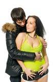 jeunes de couples Image stock