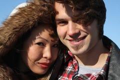 jeunes de couples image libre de droits