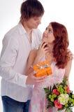 jeunes de couples Photographie stock libre de droits