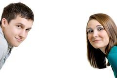 jeunes de couples Photo stock