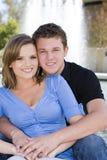 jeunes de couples images stock