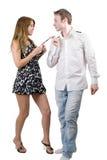 jeunes de couples de beauté Photo stock