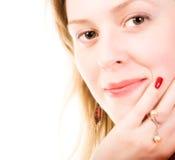 jeunes de femme de verticale Photographie stock libre de droits