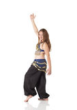 jeunes de fille de danse de ventre Photographie stock libre de droits