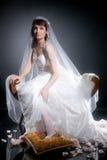 jeunes de mariée Images libres de droits