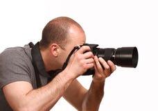 jeunes de photographe Images libres de droits