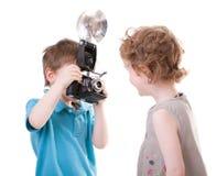 jeunes de photographe photographie stock libre de droits