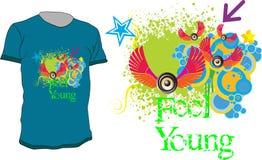 Jeunes de sensation Image libre de droits