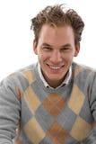 jeunes de sourire d'homme heureux photos stock
