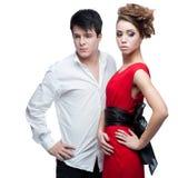 jeunes de valentine du jour s de couples Images libres de droits