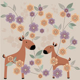 Jeunes deers Illustration de Vecteur