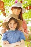 jeunes exploitants agricoles Photo libre de droits