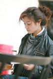 Jeunes femmes asiatiques Images libres de droits