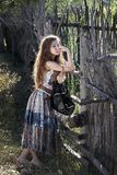 Jeunes femmes de l'est photographie stock libre de droits