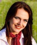 Jeunes femmes de sourire mignonnes Image libre de droits