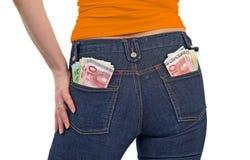 Jeunes femmes riches Images stock