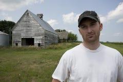 Jeunes fermier/propriétaire d'un ranch Photo libre de droits