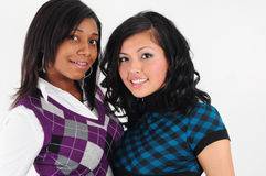 Jeunes filles photo stock