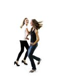 Jeunes filles de danse photo stock