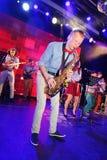Jeunes génies du jazz à Olympia de club Photographie stock libre de droits