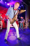 Jeunes génies du jazz à Olympia de club Photographie stock