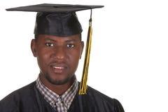 jeunes heureux d'homme de graduation Photographie stock