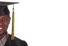 jeunes heureux d'homme de graduation Photos libres de droits