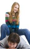 jeunes heureux de couples photos libres de droits
