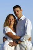 jeunes heureux de couples Photo stock