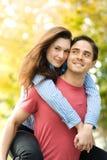 jeunes heureux de couples Image stock