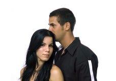 jeunes hispaniques de couples Photographie stock libre de droits