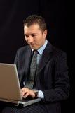 Jeunes homme d'affaires et de pointe Photographie stock